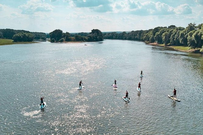 SUP Moldova providing sup tours on water(water sport activities),team building.