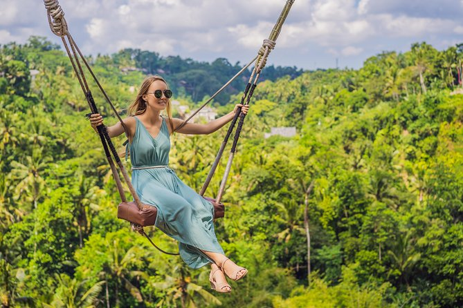 Ubud White Water Rafting, Rice Terrace and Jungle Swing