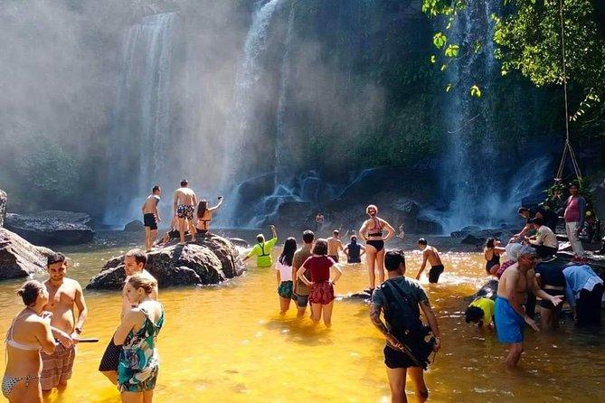 Phnom Kulen mountain Waterfall & 1000 lingas Join-in Tour