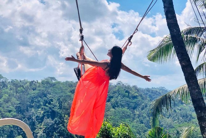 Full Day Ubud Jungle Swing and Volcano Private Guided Tour