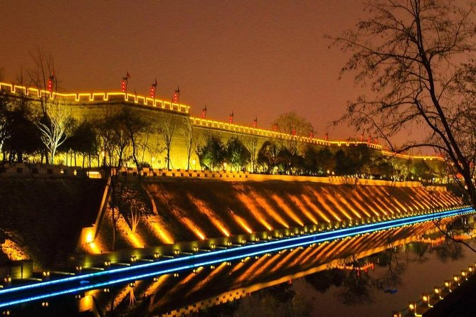 4-Hour Private Xi'an Night Tour with Musical Fountain Show