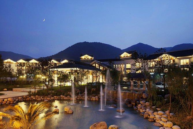 Tangshan Hot Spring Spa Resorts Private Transfer from Nanjing City