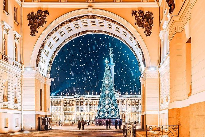 Christmas in St Petersburg Tour