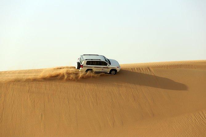Sheikh Zayed Mosque Photo-stop & Desert Drive in Abu Dhabi