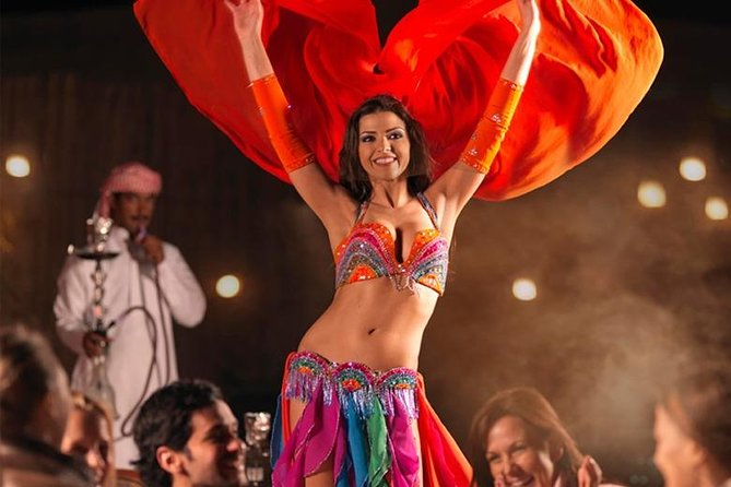 Dubai Desert Safari | BBQ Dinner | Belly Dance | Fire and Tanoura Show