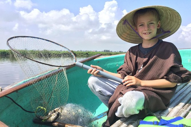 Basket boat and Fishing Tour - Half day