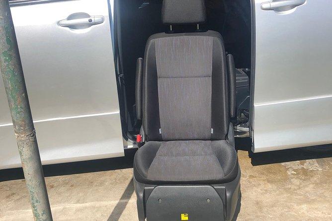 Wheelchair Transfer service 4 seater van