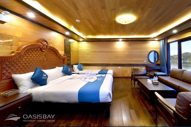 Oasis Party Halong Bay Cruise 2 Days 1 Night photo 2