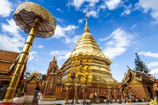 Chiang mai: Join tour Half Day Tour to Doi Suthep Temple + Baan Meo photo 7