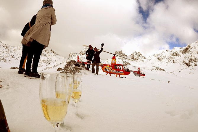 Helicopter ride: Overflight and landing in the Andes Mountains A30
