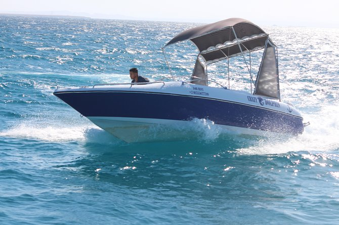 Paradise Island & Water Sport (Four hours Private Speed Boat trip ) - Hurghada photo 2