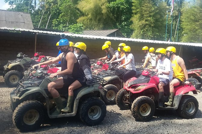 BALI BEST ATV RIDE ADVENTURE with LUNCH and PRIVATE HOTEL TRANSFER. photo 2