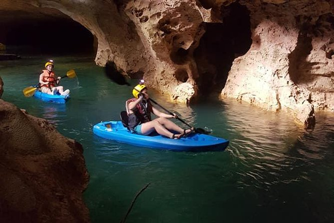 Cave-tubing or Kayak and Altun Ha