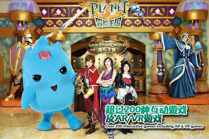 Macau Adventure Kingdom, Play, Come Really! Planet J, Go Real!