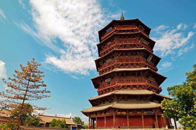 Datong Private Day Tour to Yanmenguan Great Wall and Yingxian Wooden Pagoda
