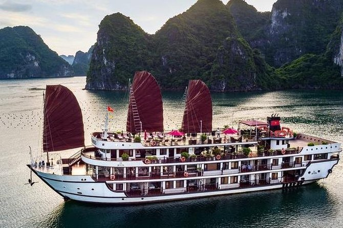 Alisa Premier Cruise Luxury 5* - Ha Long Bay 2 Days 1 Night Tour
