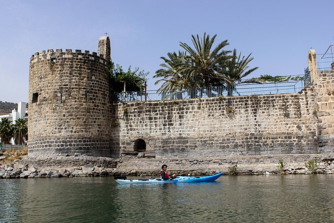 Kayaking in the Sea of Galilee Tour