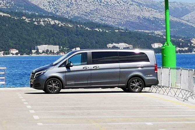 Transfers up to 3 persons to or from Dubrovnik airport to Dubrovnik