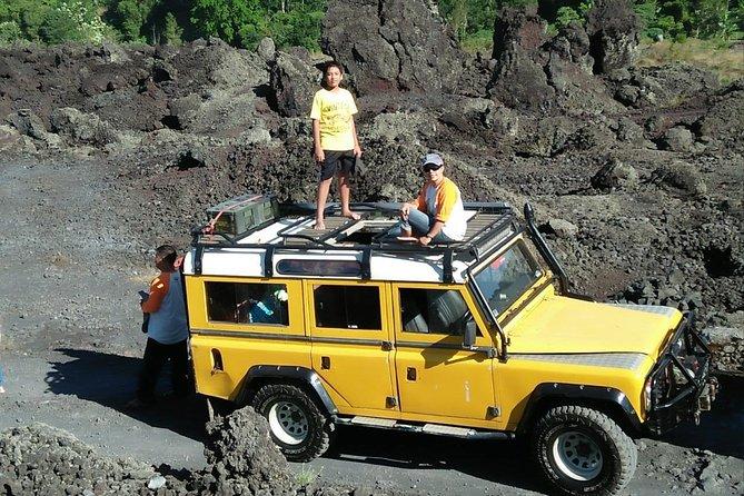 Land Rover 4x4WD Lava Garden Batur, Tukad Cepung, Bamboo forest, Penglipuran