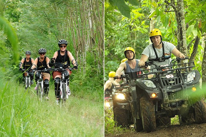 Bali Downhill Cycling and Quad Biking Tour
