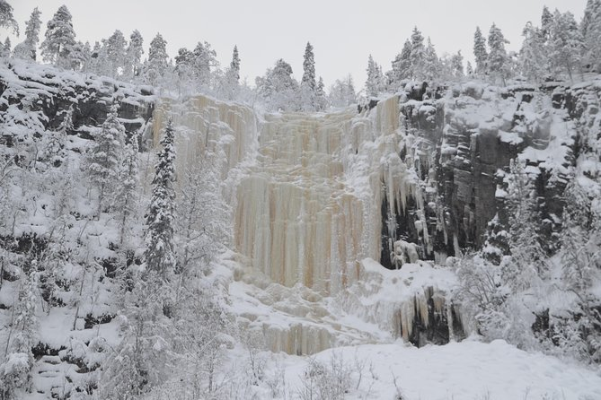 Korouoma Canyon Frozen Waterfalls (with Snowshoe option)