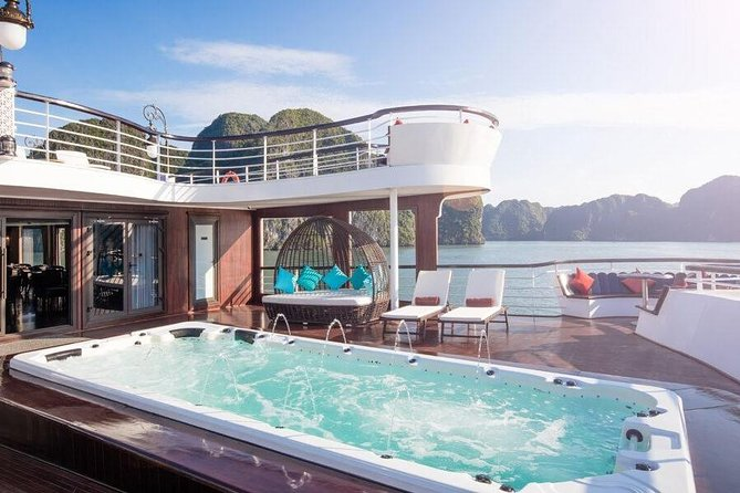 President Cruise best luxury 5 star Cruise - Ha Long Bay 2 Days 1 Night Tour