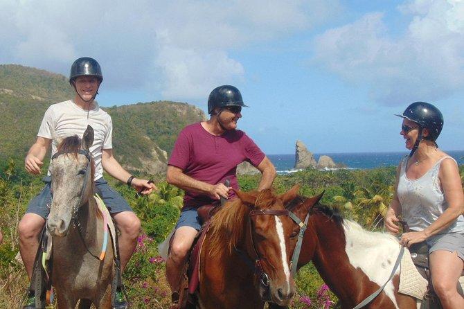 Nature & Historical Horseback Riding Tours St. Lucia