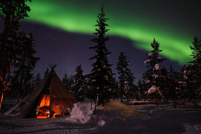 Private Aurora Borealis Picnic tour