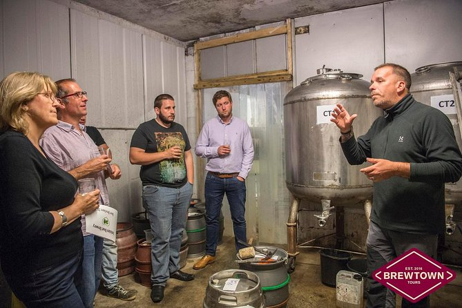Yorkshire Heart Brewery Tour