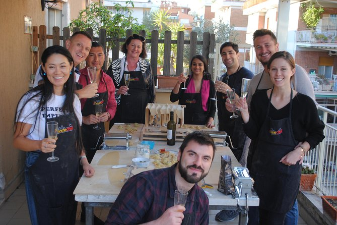 Rooftop Pasta Making in Rome photo 3