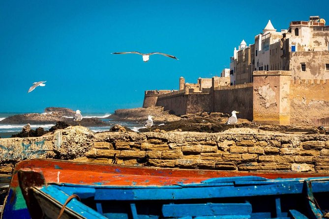 Walking Tour of Essaouira + Fish lunch meal: Private Day Trip from Marrakech