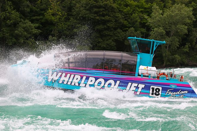 Niagara Falls USA Domed Jet-Boat Ride
