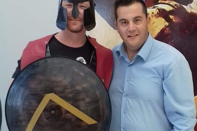 Thermopylae and Delfi the 300Spartans and Leonidas tour