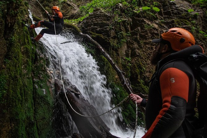 Canyoning and Rappelling tour around Kutaisi