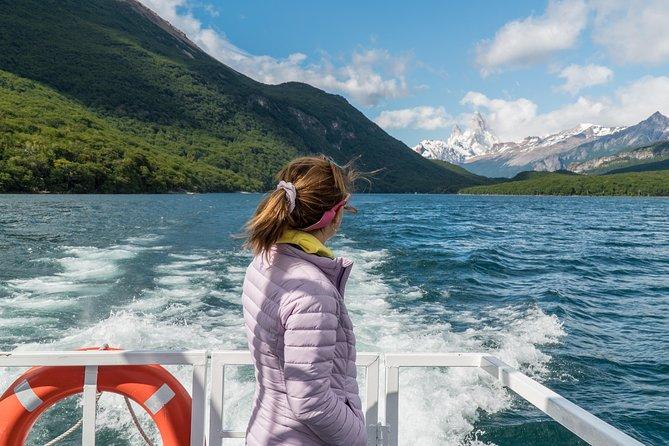 Navegación y Trekking al Lago del Desierto y Gran Glaciar Vespignani, El Chalten, ARGENTINA