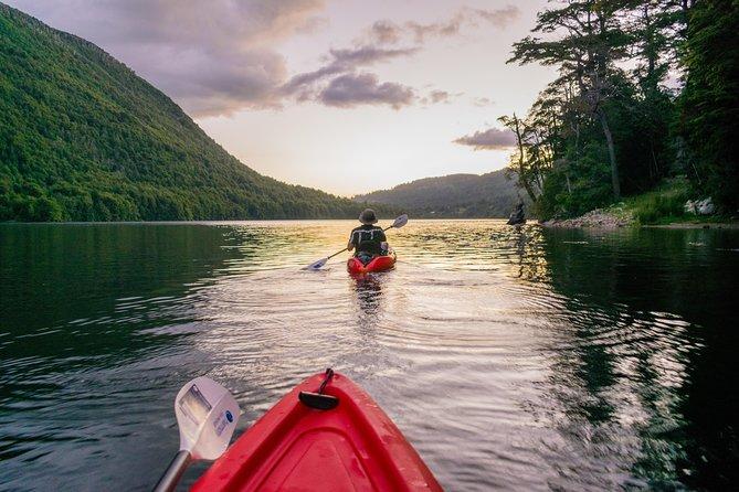 Kayaking in Huerquehue National Park (sunrise / sunset)