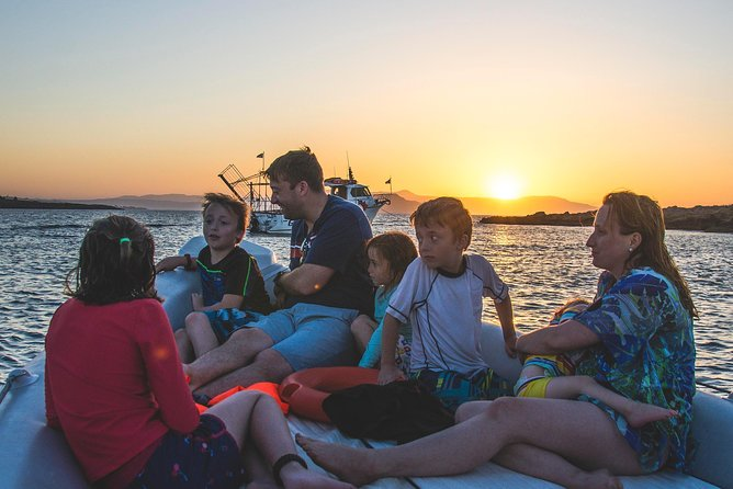 Private Sunset boat trip in Chania, Crete (price is per group)