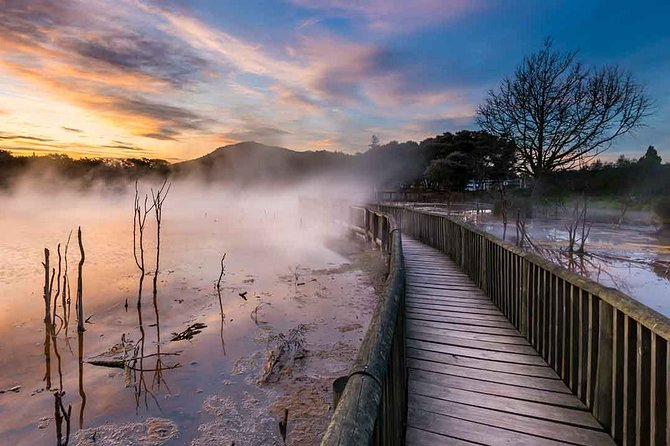 Rotorua explorer - geothermal wonderland. Small group of 4-5 people.