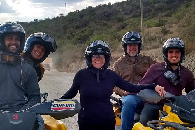 ATVs through the mountains and city of Guanajuato