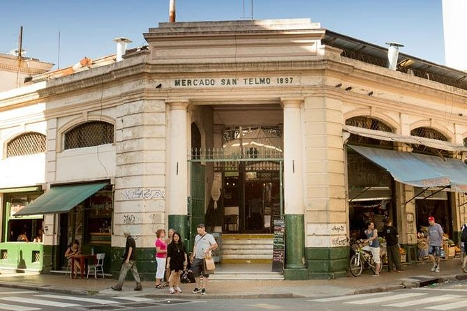 San Telmo Market Tour and Wine Tasting