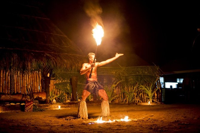 COMBO Tour: Robinson island Fijian Dance Show & Dinner PLUS 4 Hour Discover Nadi