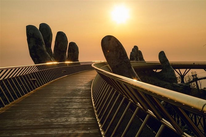 PRIVATE SUNSET Golden Bridge at Sunset Time in Ba Na Mountain via Cable Car photo 1