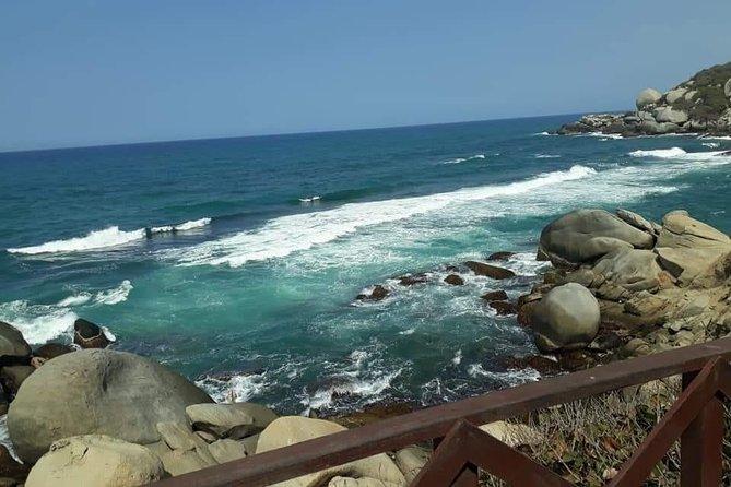 Let's live Tayrona Park, Canaveral sector, reefs, Arenilla and Cabo San Juan