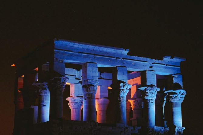 Sound and Light Show in Aswan