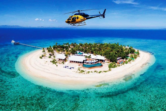 Scenic Heli Flight to Malamala Beach Club Island, Food & Beverage Voucher
