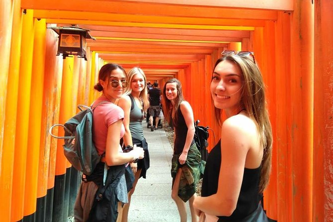 Morning Fushimi Inari Shrine & Kiyomizu Temple & Gion -small group walking tour