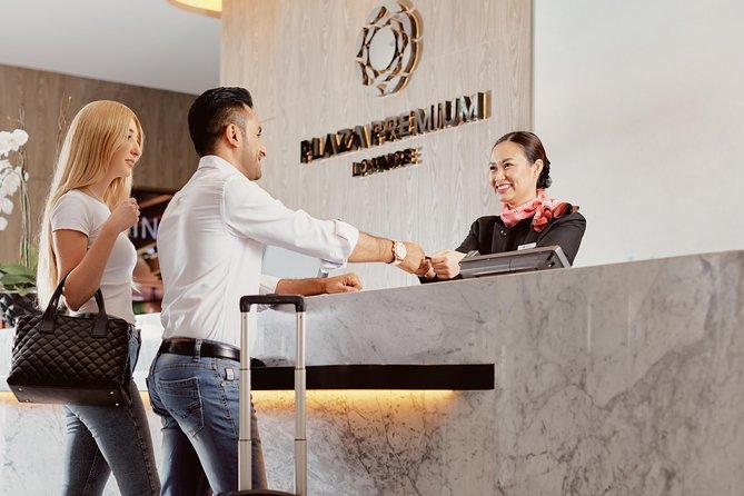 Dubai International Airport Plaza Premium Lounge at Terminal 3
