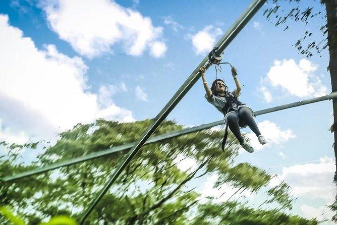 Chiang Mai Jungle Flight Zipline Adventure