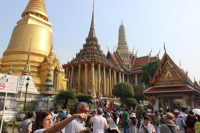 Exclusive Bangkok City Tour of Top 7 Attraction With Grand Palace & Jim Thompson