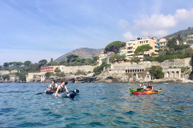 Paddling Genoa secret coast